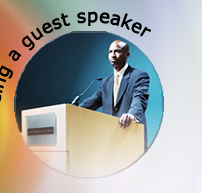 Being a guest speaker