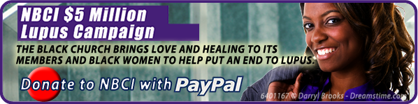 NBCI $5 Million Lupus Campaign - Donate to NBCI with PayPal