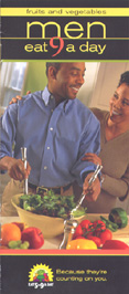 African-American Men: Count yourself healthy Eat 9 Serving a Day