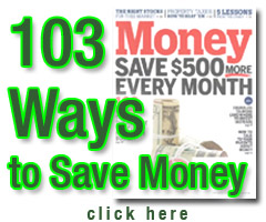 103 Ways To Save