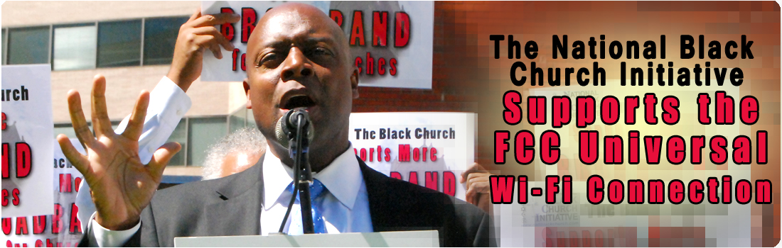 The Black Church Supports FCC Universal Wi-Fi Connection
