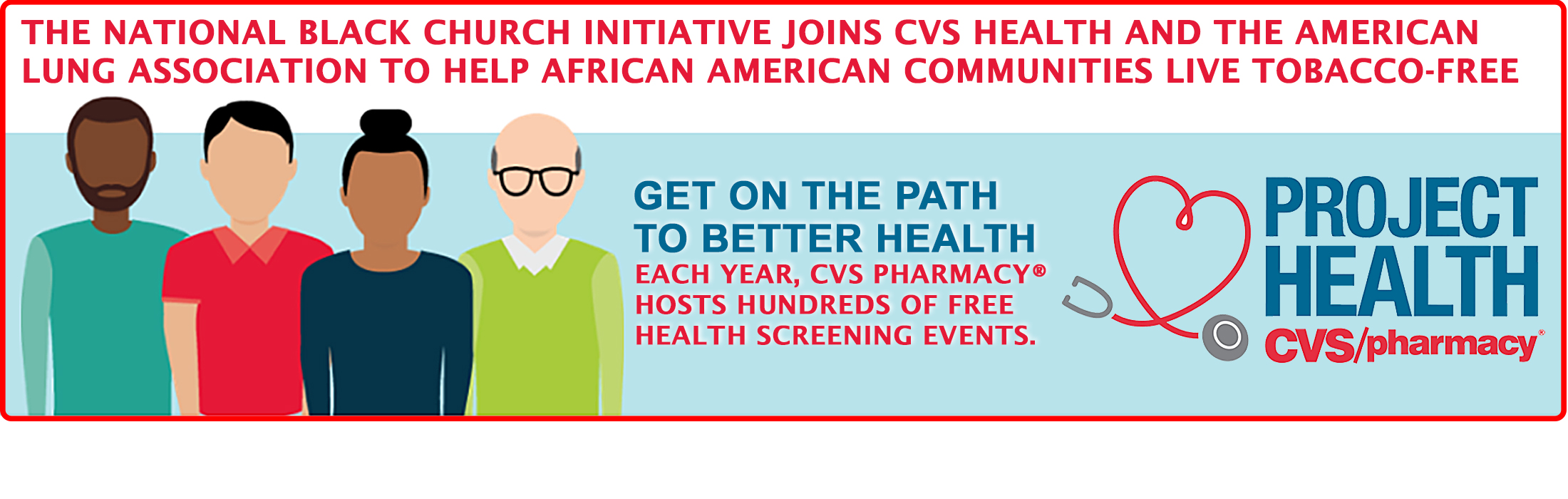 NBCI Joins CVS Health and the American Lung Association To Help African Americans Live Tobacco-Free