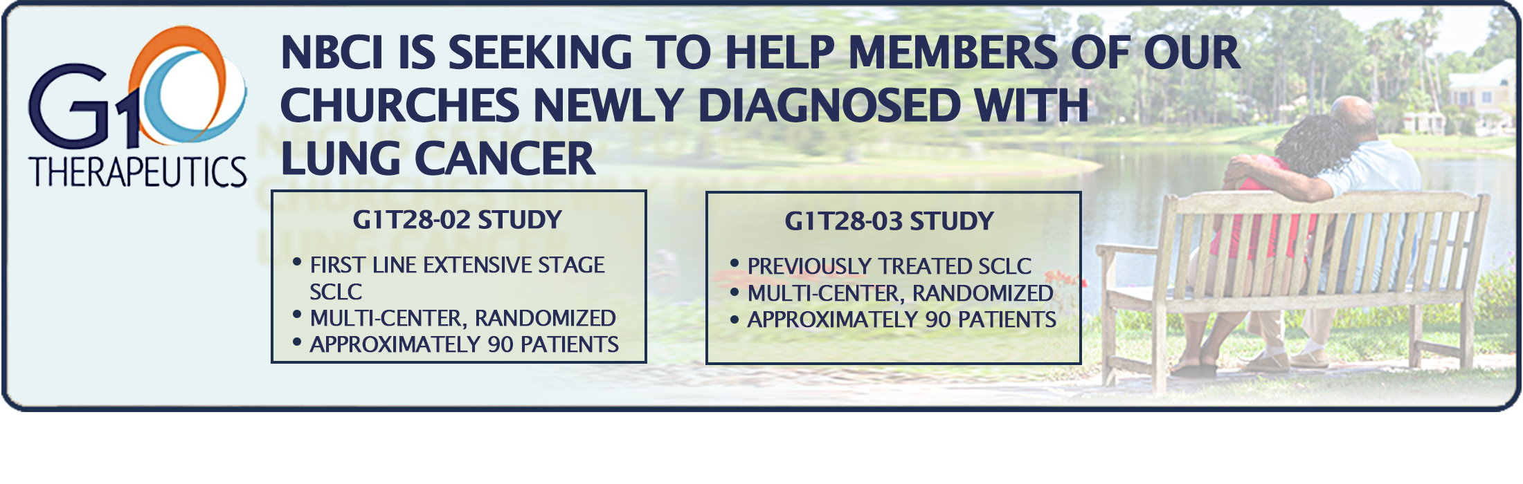 NBCI Wants to Help Our Church Members Newly Diagnosed With Lung Cancer
